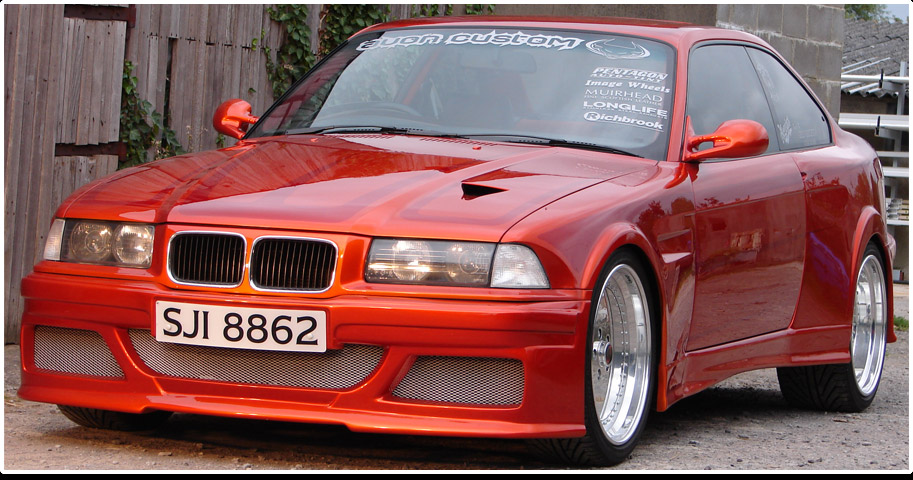 Avon Custom WideBody BMW 325i